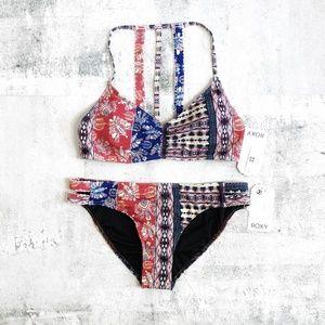 Roxy | Bohemian Vibes Strappy Bikini L